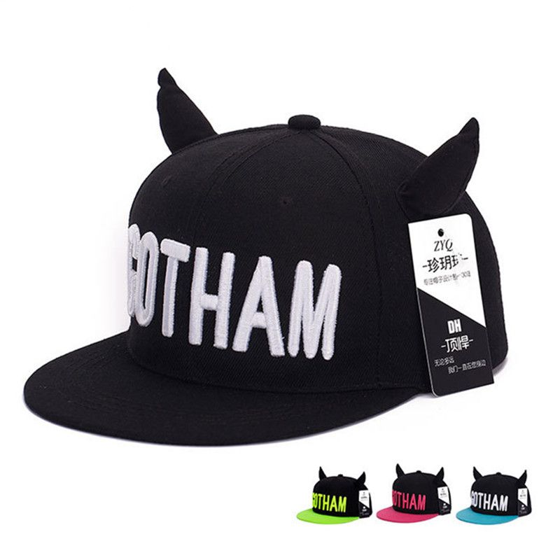 57c36895a2d Click to Buy    BomHCS Cute Ear Horns Summer Autumn Hip Hop Cap ...
