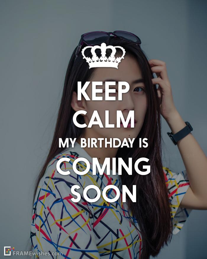 Pin On Keep Calm Birthday Frames