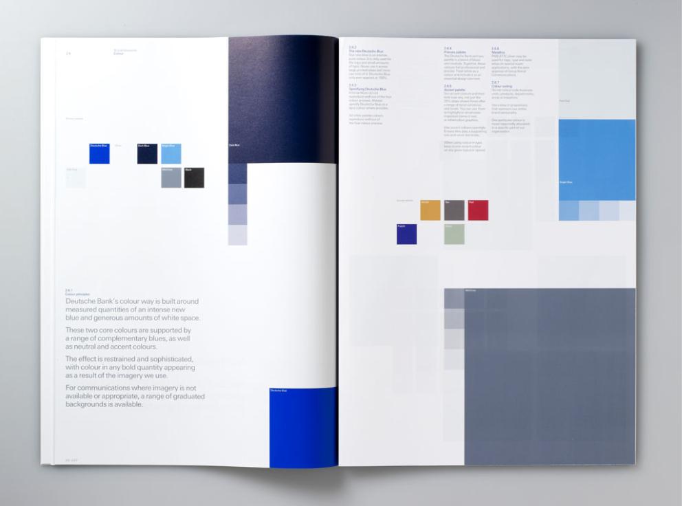 Deutsche Bank brand guidelines Bank branding, Brand