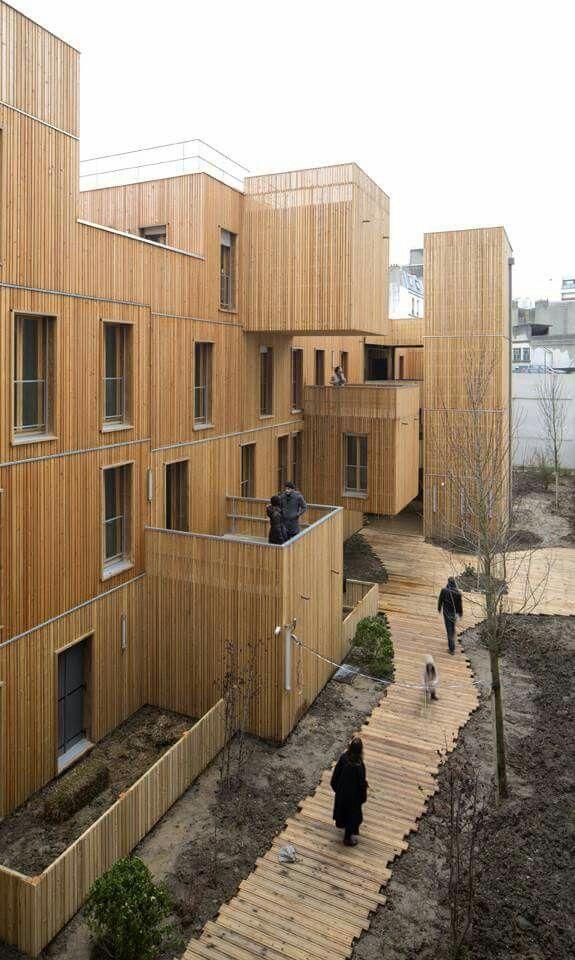 Pin de Ensamble sistema constructivo en fachadas madera Pinterest - fachada madera