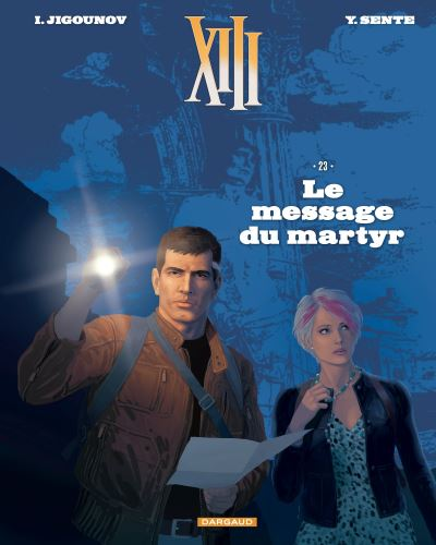 Xiii Tome 23 Xiii Le Message Du Martyr Edition Speciale Nouveau Format Iouri Jigounov Yves Sente Cartonne Achat Livre Antoine De Caunes Edition Speciale Mafieux