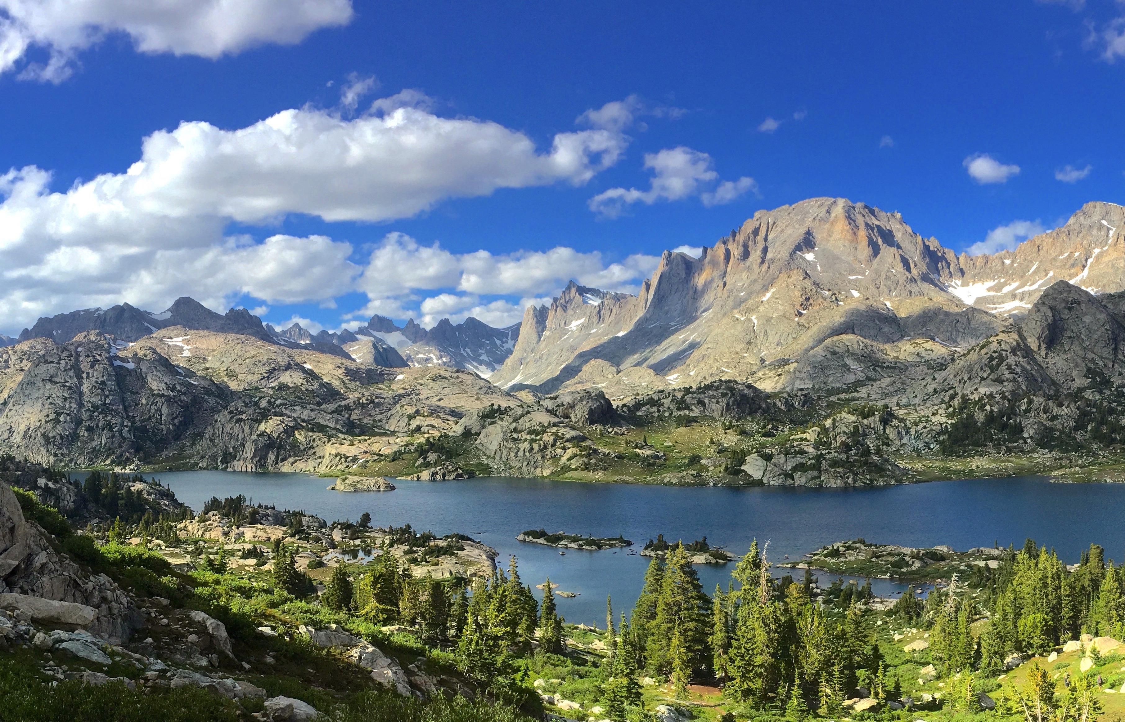 Island Lake Deep In The Wind River Range Of Wyoming Hiking Camping Outdoors Nature Travel Backpacking Adventure Marm Island Lake Wyoming Nature Camping