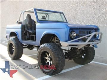 Hi Look What I Found 1968 Ford Bronco Dallas Tx In Texas Listed For 24 995 Ford Bronco Ford Bronco For Sale Bronco