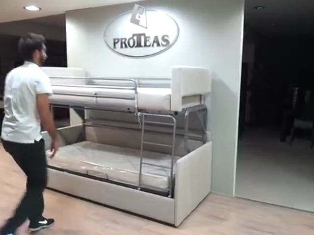 Dr James Freije Coup 233 By Proteas Sofa To Bunk Bed In A