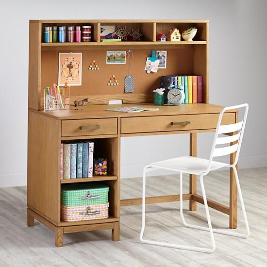 Cargo Desk & Hutch (Natural) - Cargo Desk & Hutch (Natural) More Desk Hutch And Desks Ideas