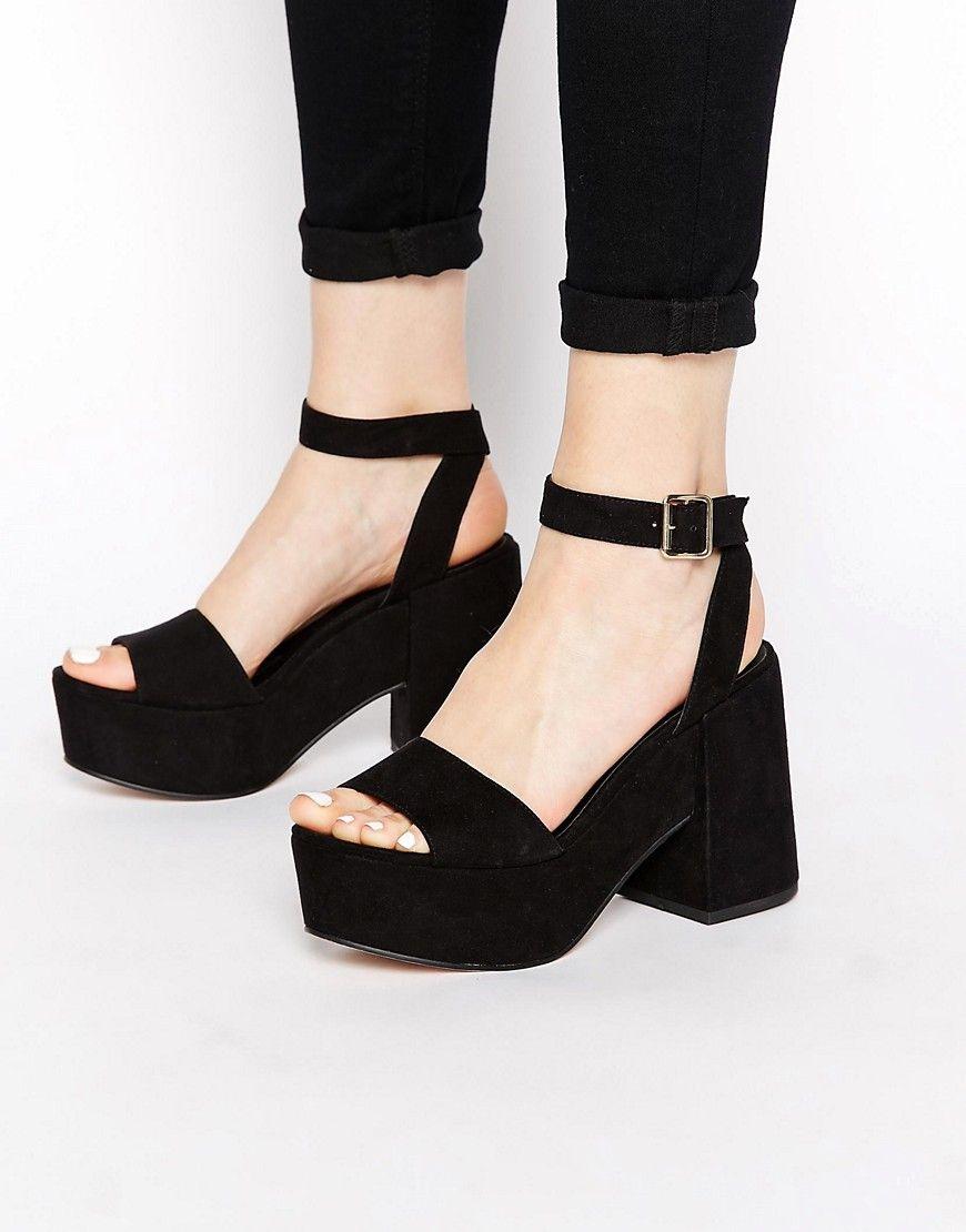 Image 1 ofASOS HOTSPOTS Heeled Sandals