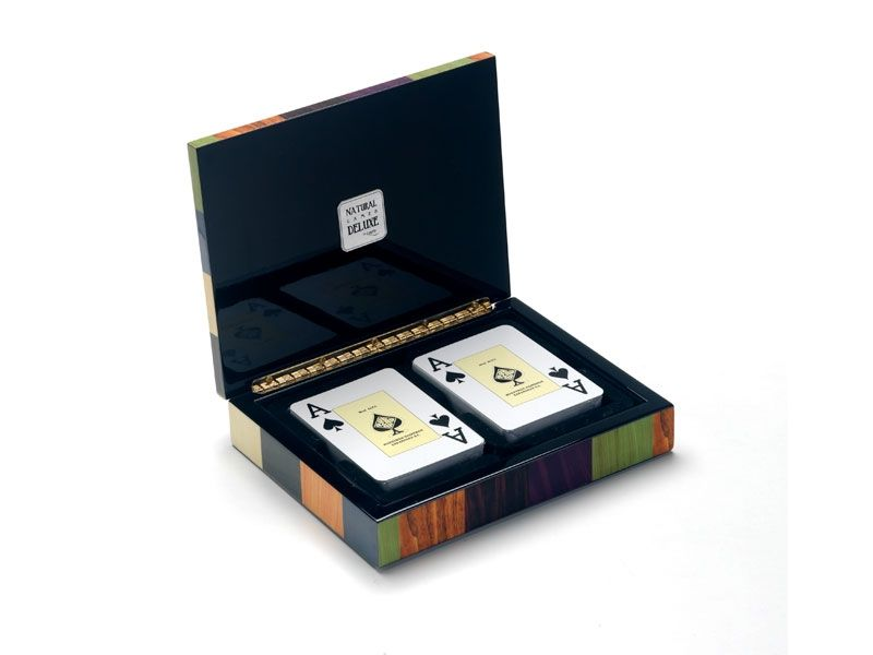 Canasta de poker en caja moderna - www.mentesdiferentes.com