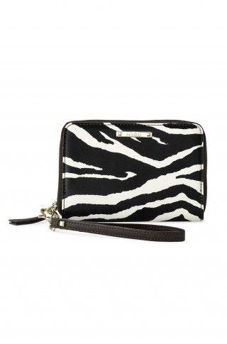 Stella /& Dot Chelsea Tech Zebra Print Wallet  BRAND NEW!