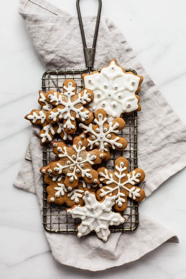 Healthier easy gingerbread cookies  baking