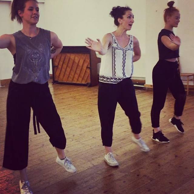 """""""#rehearsals for this coming weekend! #stopinthenameoflove #marthaandthevandellas #motown #1960s #motownmusic #music #trio #Vintagesingers #retrostyle #eventprofs #london #eventplanner #gig #girlgroup #dancers @webb84 @dmunday @chloegames"""" by @thespinettes."""