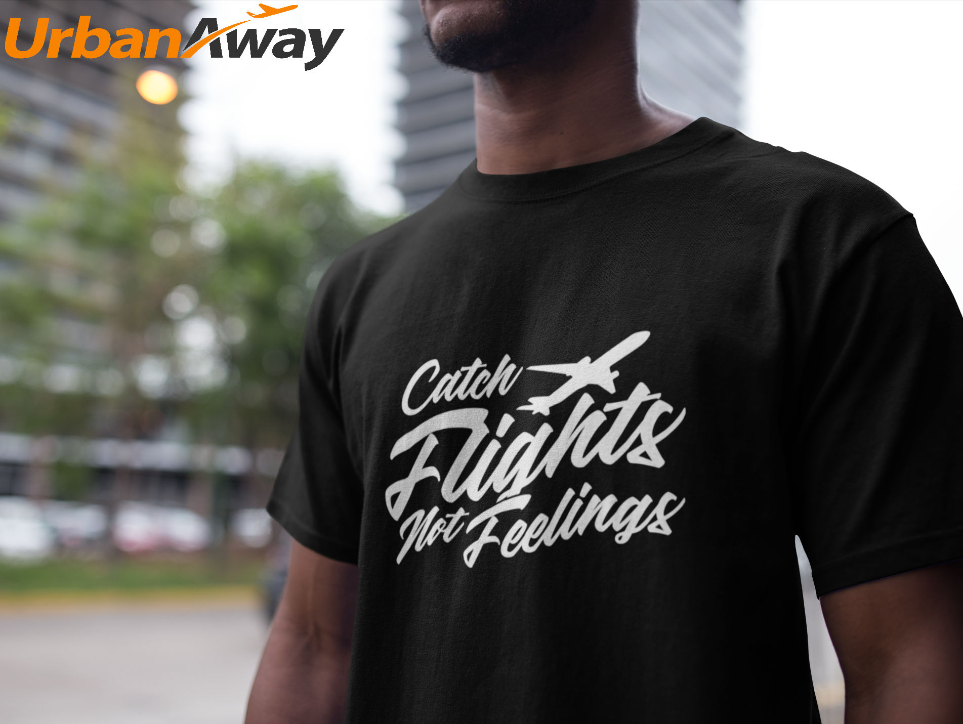 c0d594f7262 Catch Flights not Feelings T shirt