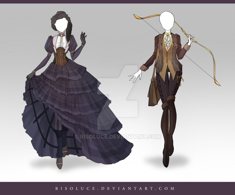 Open Adoptable Outfit Auction 114 115 Art Clothes Anime Outfits Fantasy Clothing