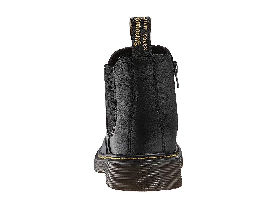 dd40b11cab108 Dr. Martens Kid's Collection 2976 Junior Banzai Chelsea Boot (Little Kid/Big  Kid) Kids Shoes Black Softy T