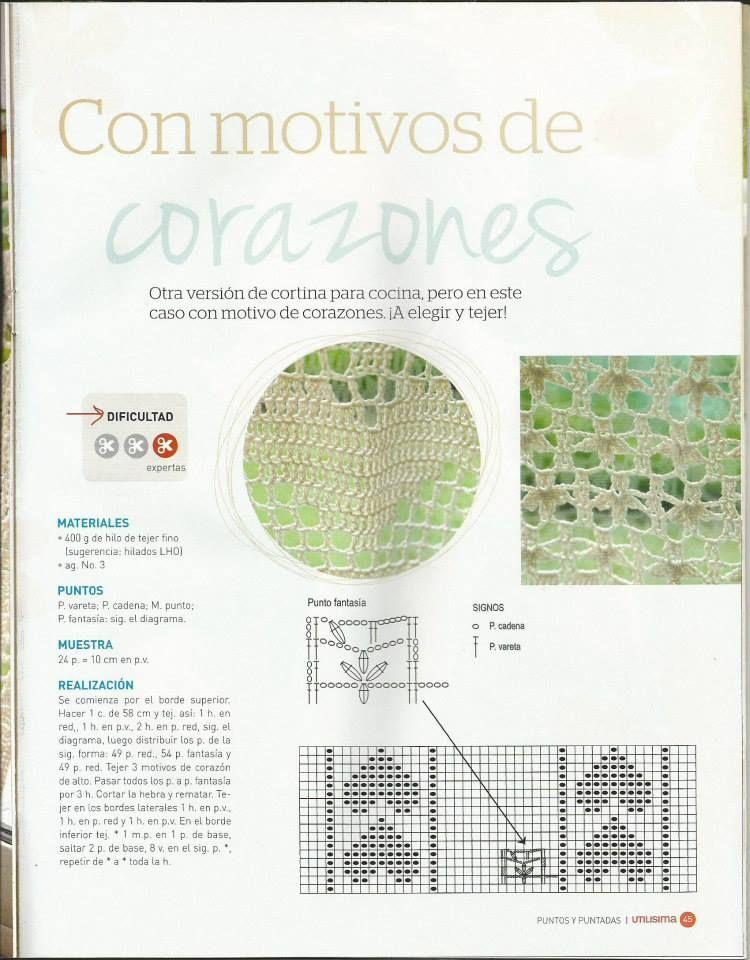 Compartimos revistas, patrones, tutoriales de crochet y dos agujas ...