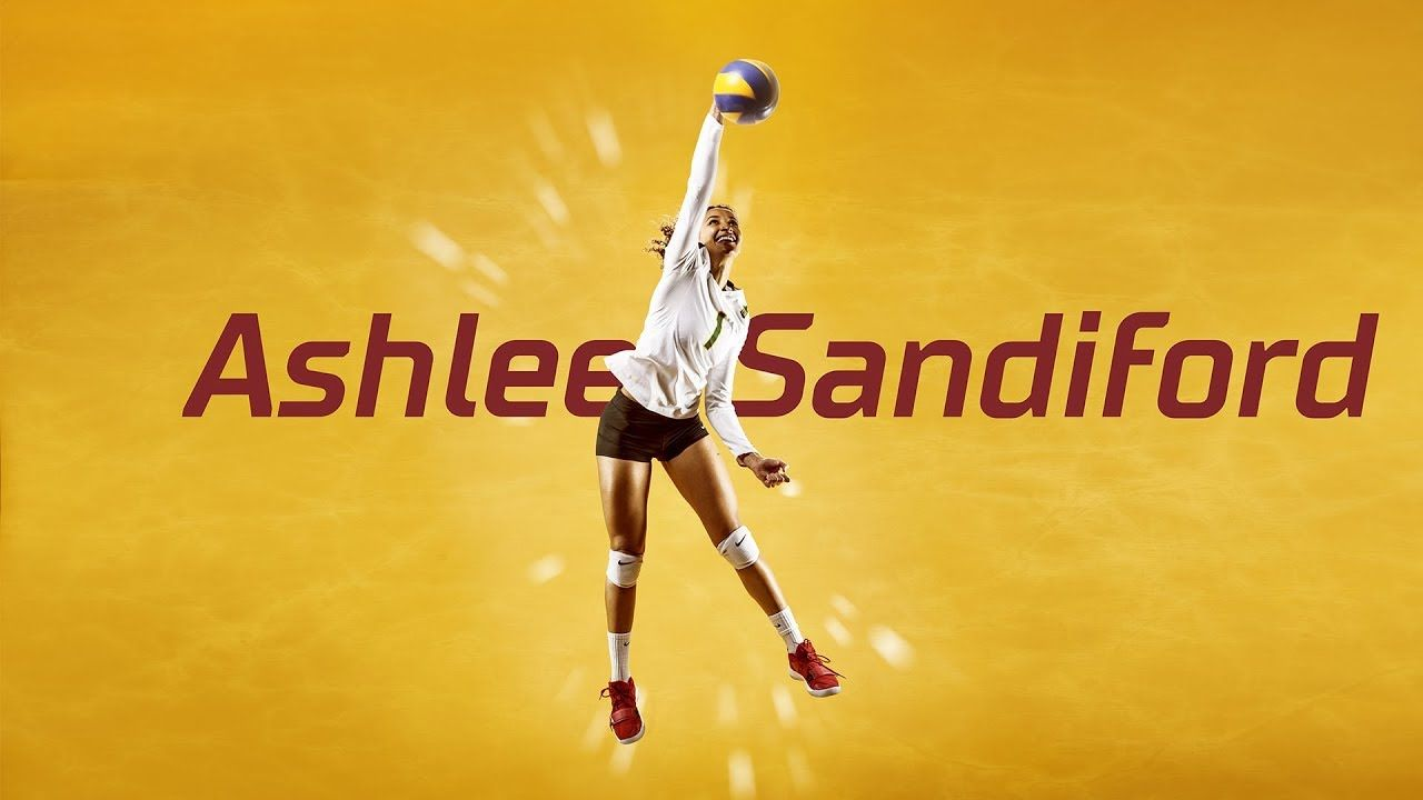 Why Ashlee Sandiford Has The Best Position In Volleyball Best Positions Volleyball Ashlee