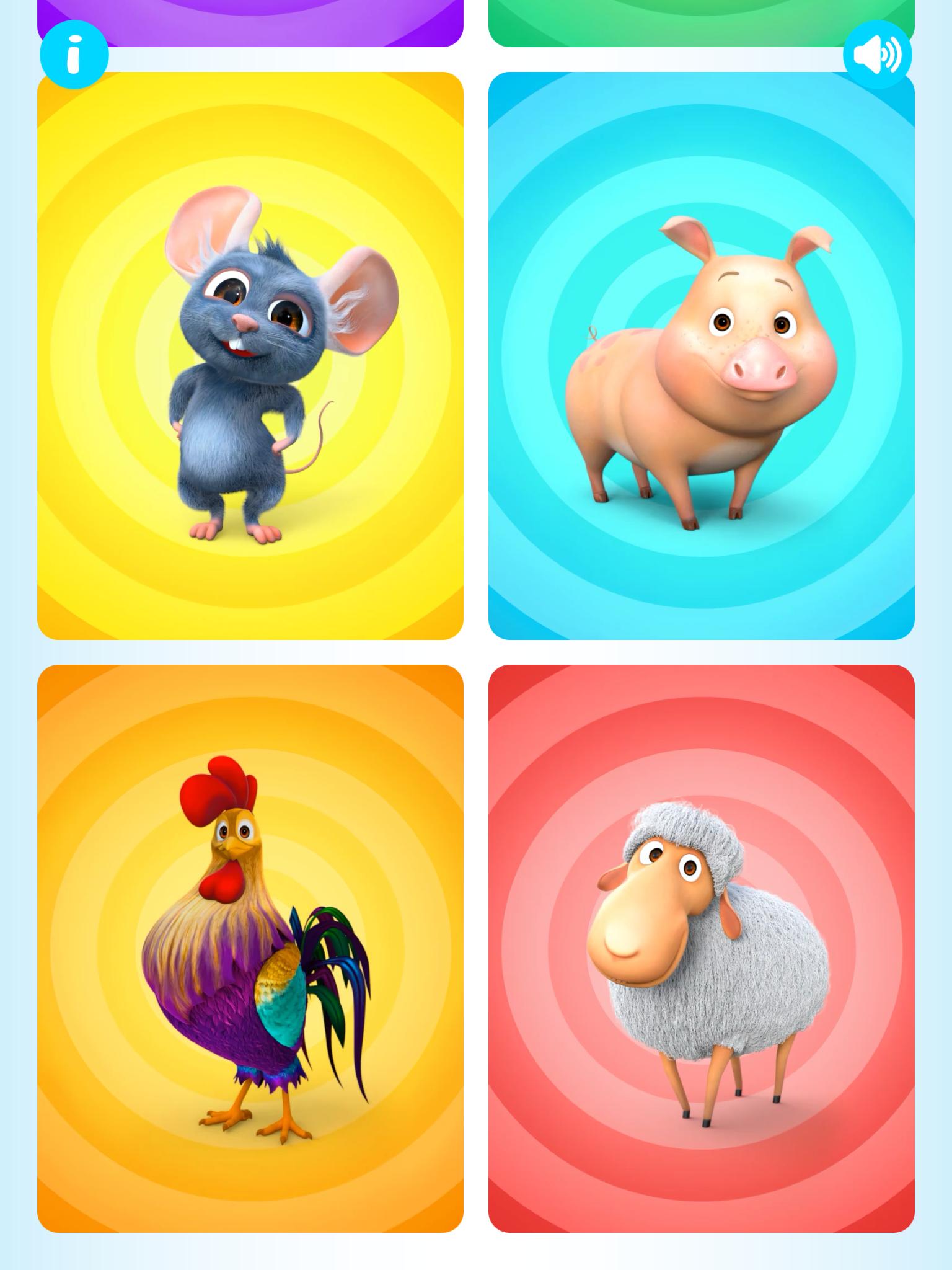 NEW! THE FARM ANIMALS PUZZLE APP! Learn our farm animals