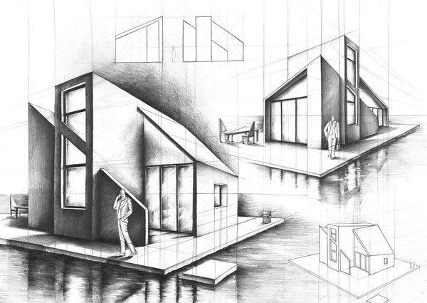 Interior Design And Architecture In Pencil Drawings Architecture Drawing Architecture Layout Architecture