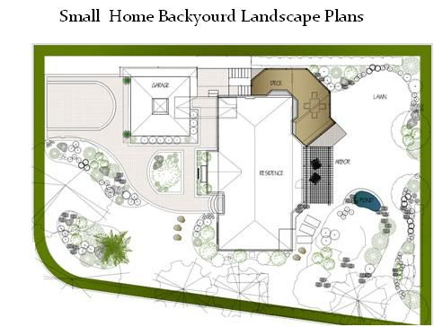 House home modern and 2012 new home backyard landscape plans garden pinterest backyard for Residential landscape design plan