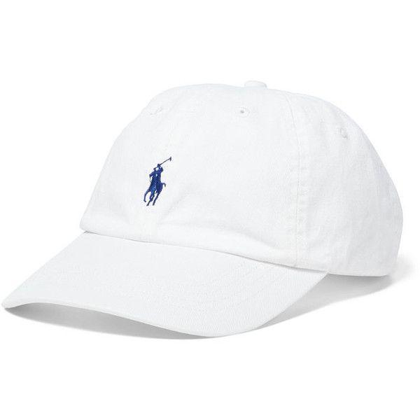 d2171016 Polo Ralph Lauren Cotton Chino Baseball Cap ($40) ❤ liked on ...