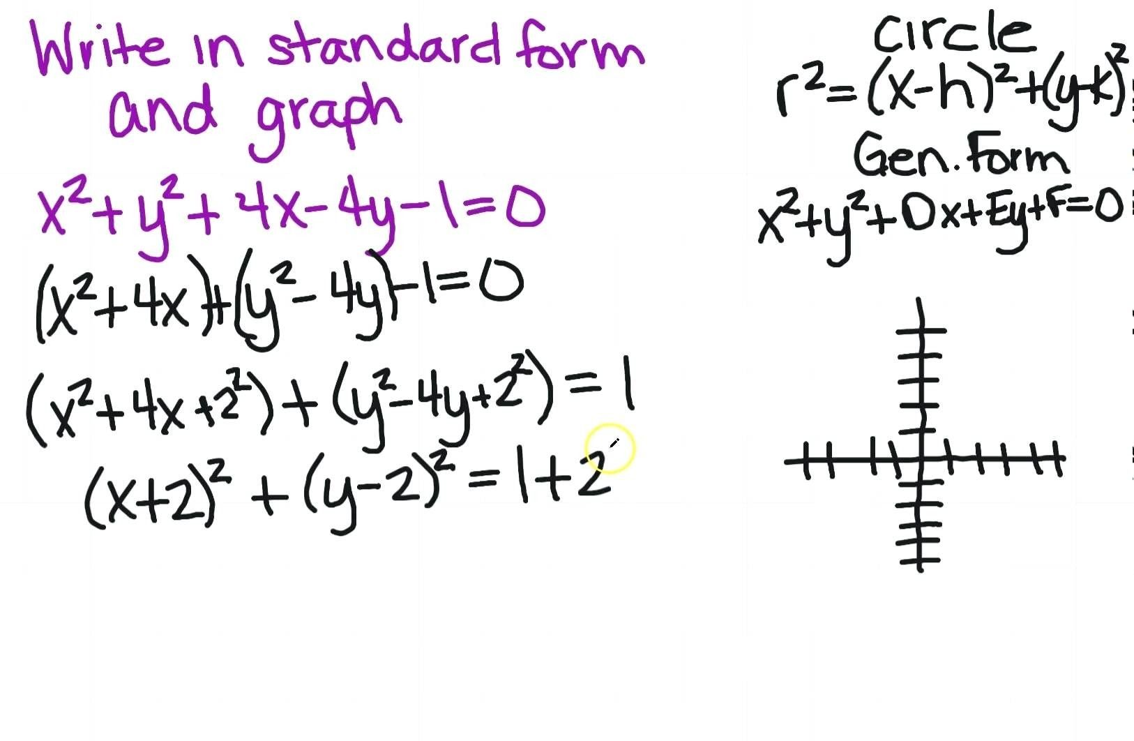 Standard Form Variables The Truth About Standard Form