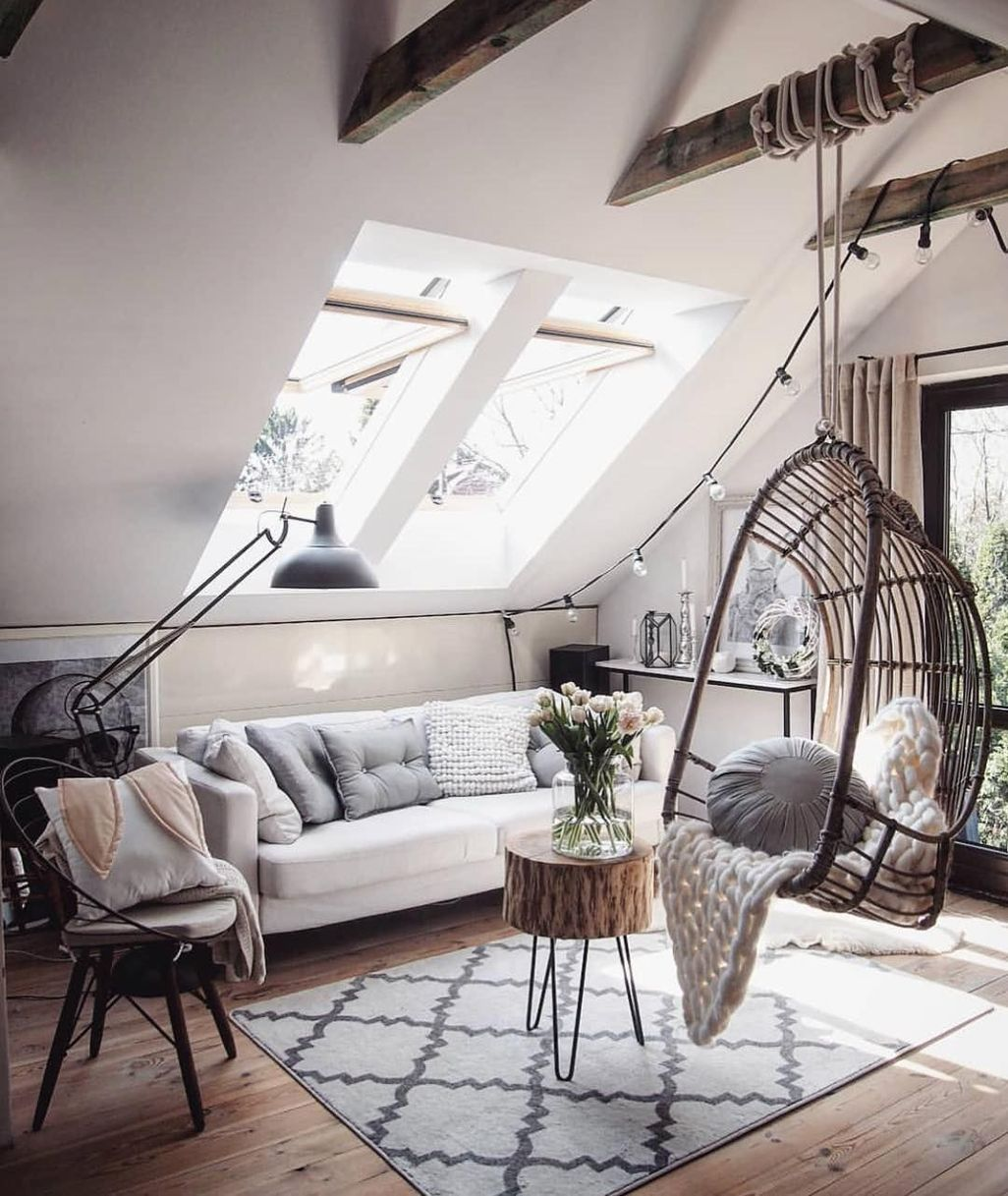 41 Modern Hanging Swing Chair Stand Indoor Decor Minimalism Interior Hanging Swing Chair Interior Design