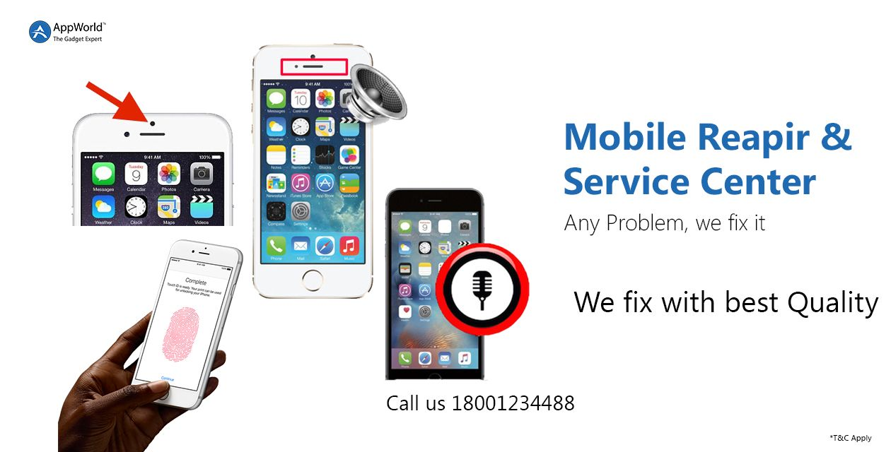 Mobile Repair Service Center : Speaker ,Mic And more at