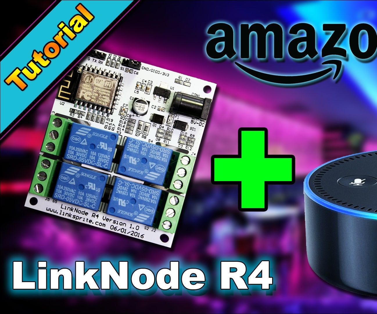 Diy Home Automation With Esp8266 Linknode R4 And Amazon Alexa Home Automation Smart Home Automation Diy Home Automation