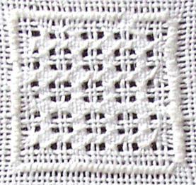 Whitework pontos de bordado