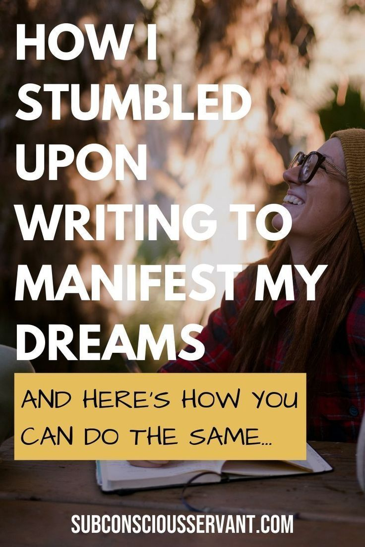 Why Writing Things Down to Manifest Works | Manifestation