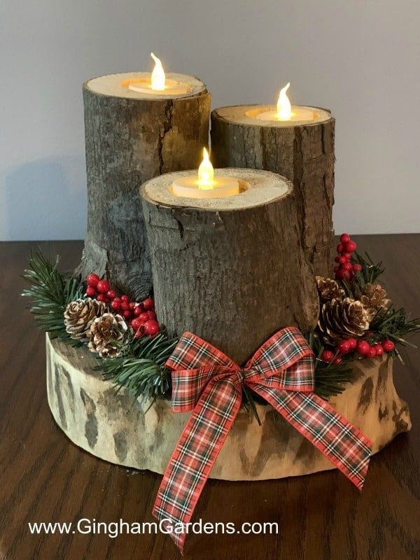 Photo of Festive DIY Projects Using Tree Branches and Logs – Gingham Gardens