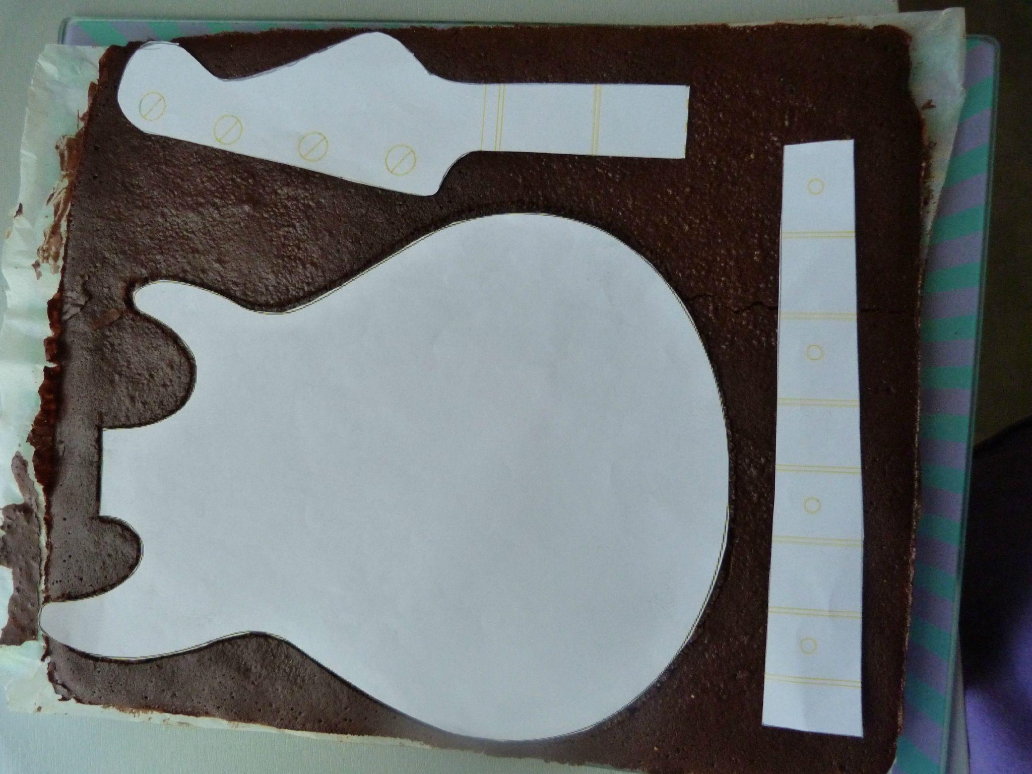 Extrêmement Les 25 meilleures idées de la catégorie Gâteau de guitare sur  YU01