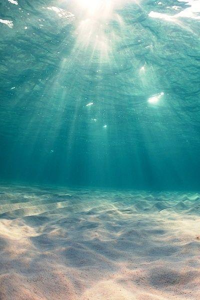 I felt  like a mermaid. but, i was drowning...