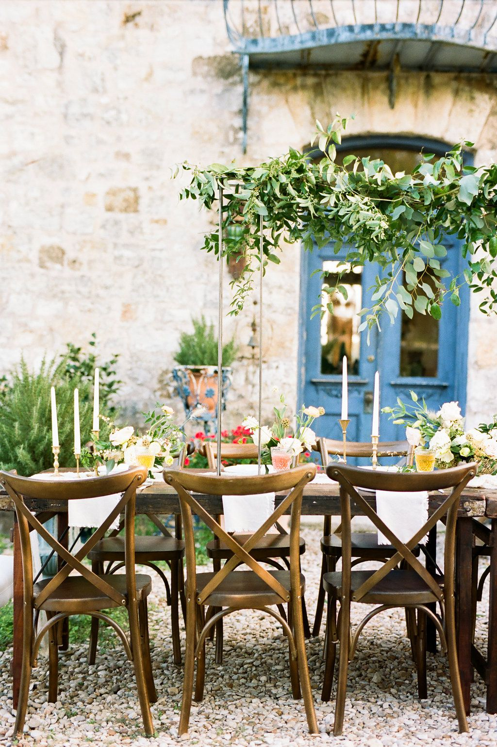 French Romantic Wedding With Brixton Farm Tables And X Back Nolan Chairs Rentals Via Birch Farm Table Wedding Houston Wedding Photographer Houston Wedding
