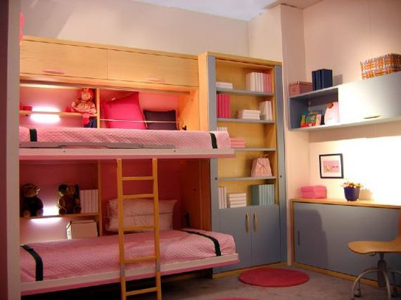 Modern Girl Bunk Beds Furniture Designs To Show Mom Bed