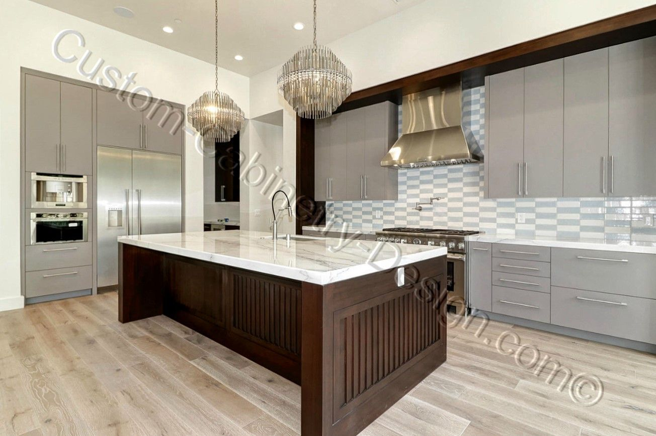 Modern Frameless Kitchen Cabinets 2 Colors Cabinetry Design Frameless Kitchen Cabinets Cabinetry Diy