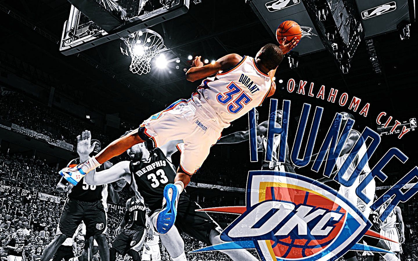 Kevin Durant Dunk Wallpapers 2015 Wallpaper Cave Кевин