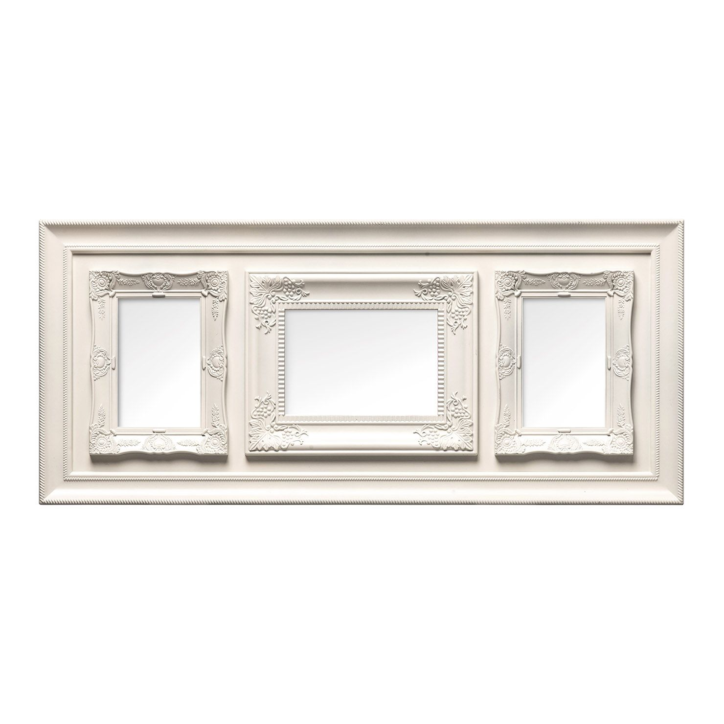 Vintage Triple Photo Frame, Cream   Living room ideas   Pinterest ...