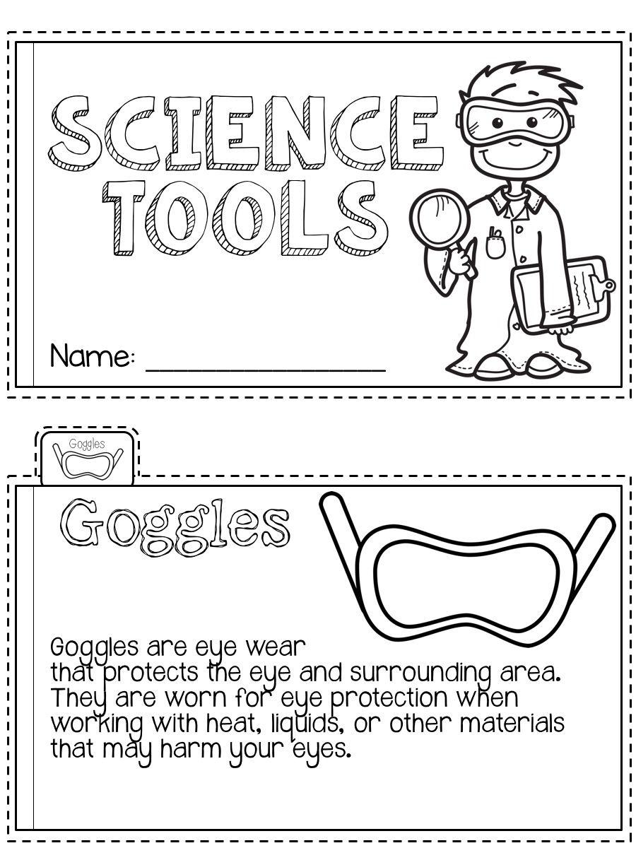 Science Tools Mini Book Science Tools Mini Books Science Classroom [ 1200 x 900 Pixel ]