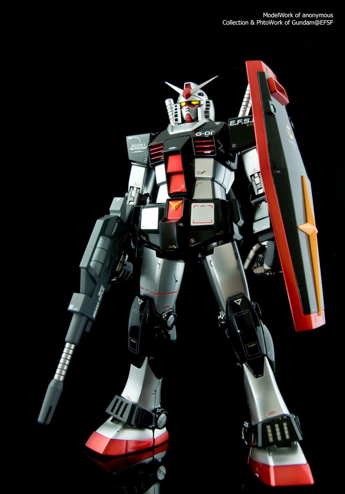 The WhiteBase of GundamEFSF MG 1/100 RX781【高達RX781