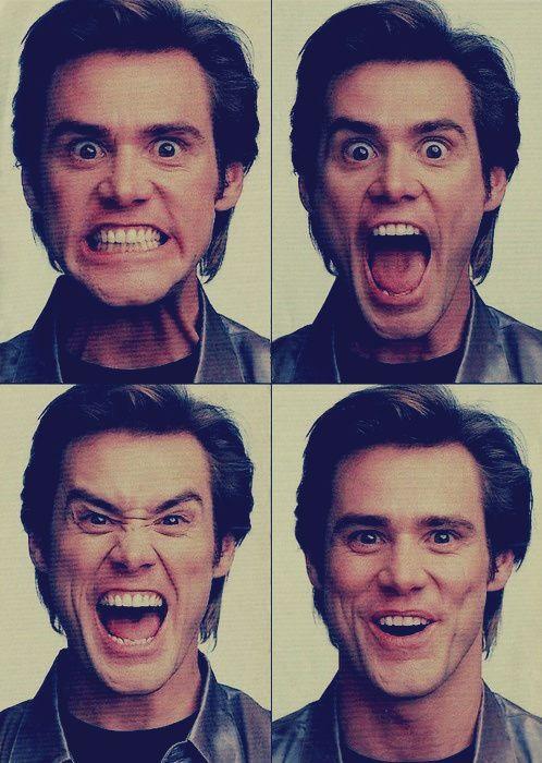 Jim Carrey - we make a lot of similar faces