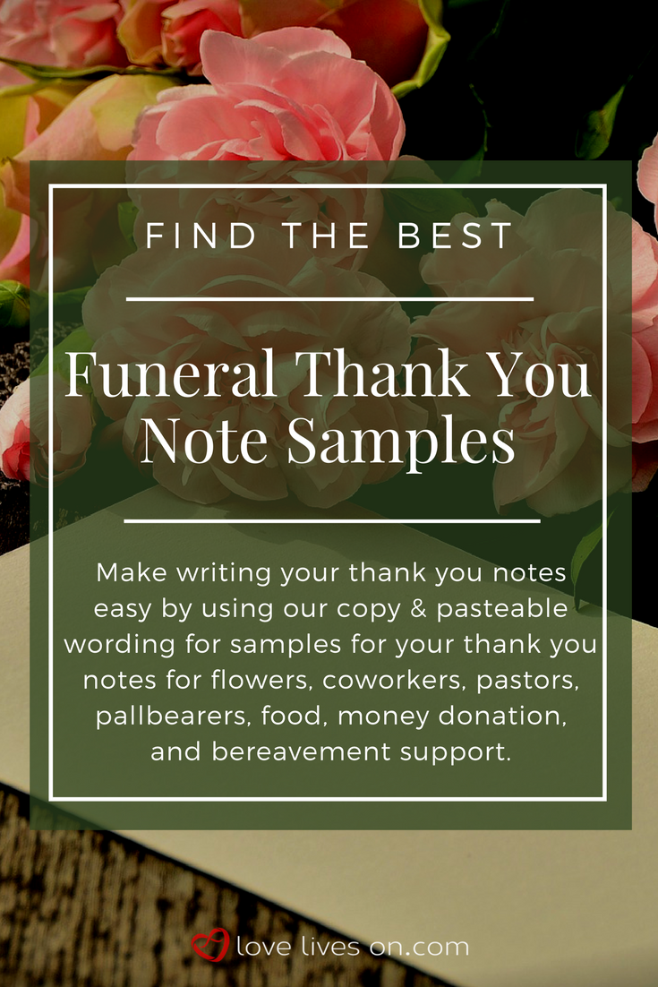 33 best funeral thank you cards thank you cards pinterest click to find the very best collection of free funeral thank you note samples that you can easily copy paste to make your thank you note writing easier izmirmasajfo