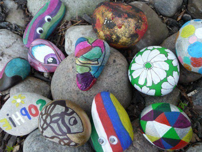 Steine bemalen: 60 unserer Lieblingsideen! #steinebemalenvorlagen