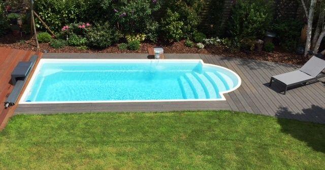 GFK Schwimmbecken, Fertig Schwimmbecken, Fertig Pool