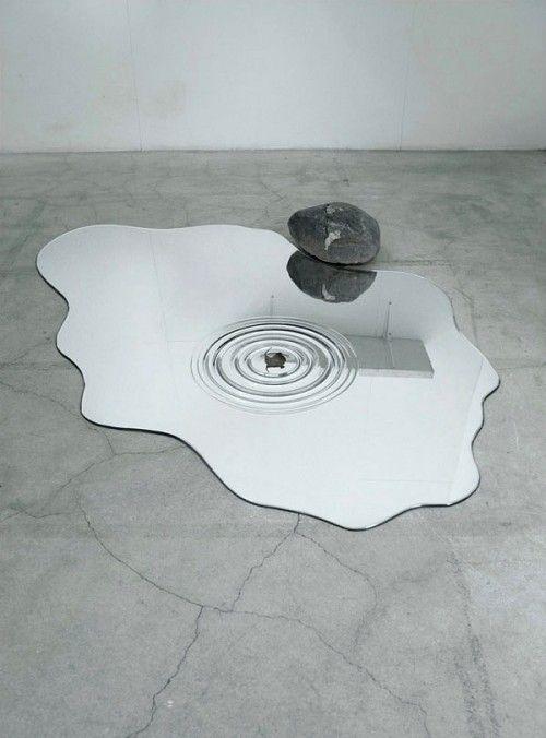 Liquid-like Mizukagami Water Mirrors