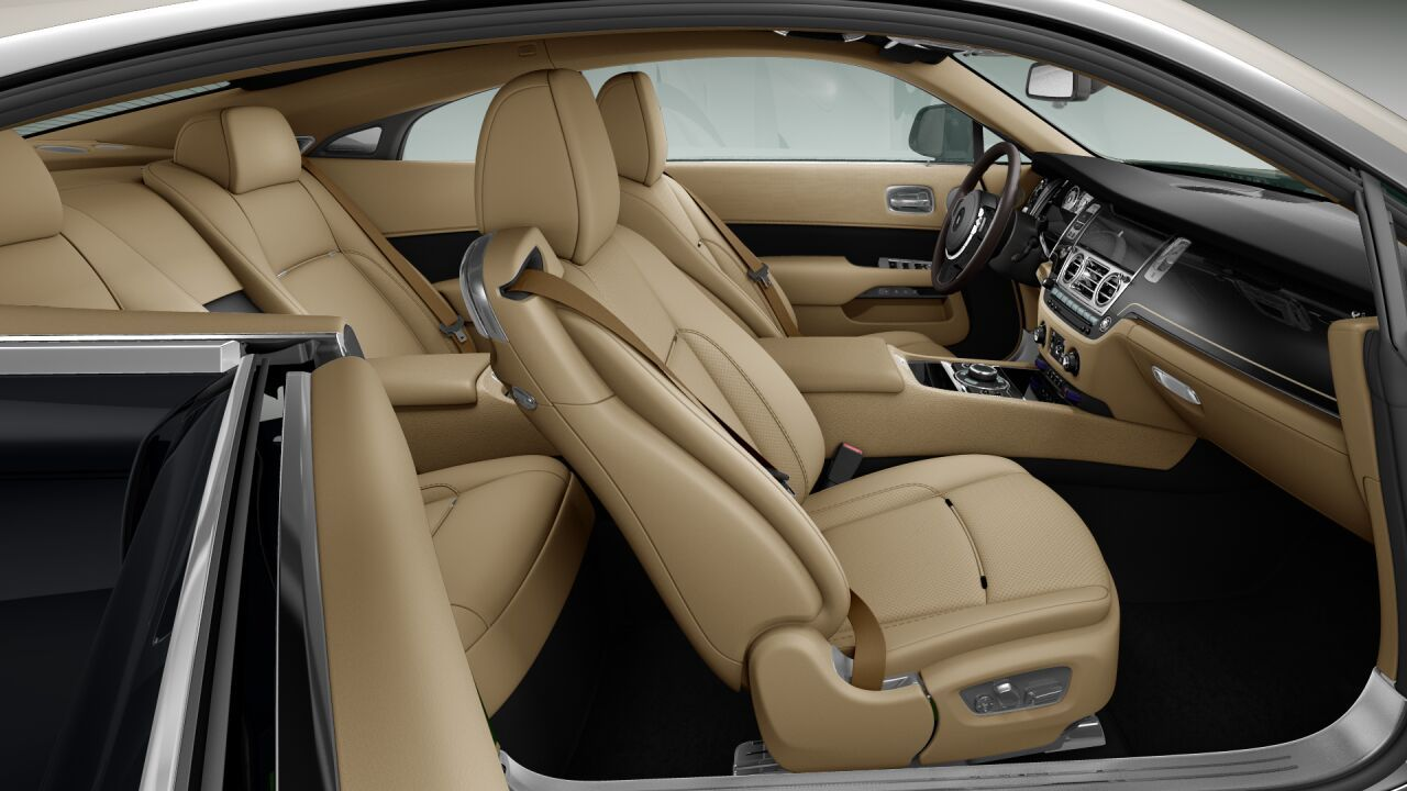 Rolls Royce Wraith Interior Leather Wood Cashmere