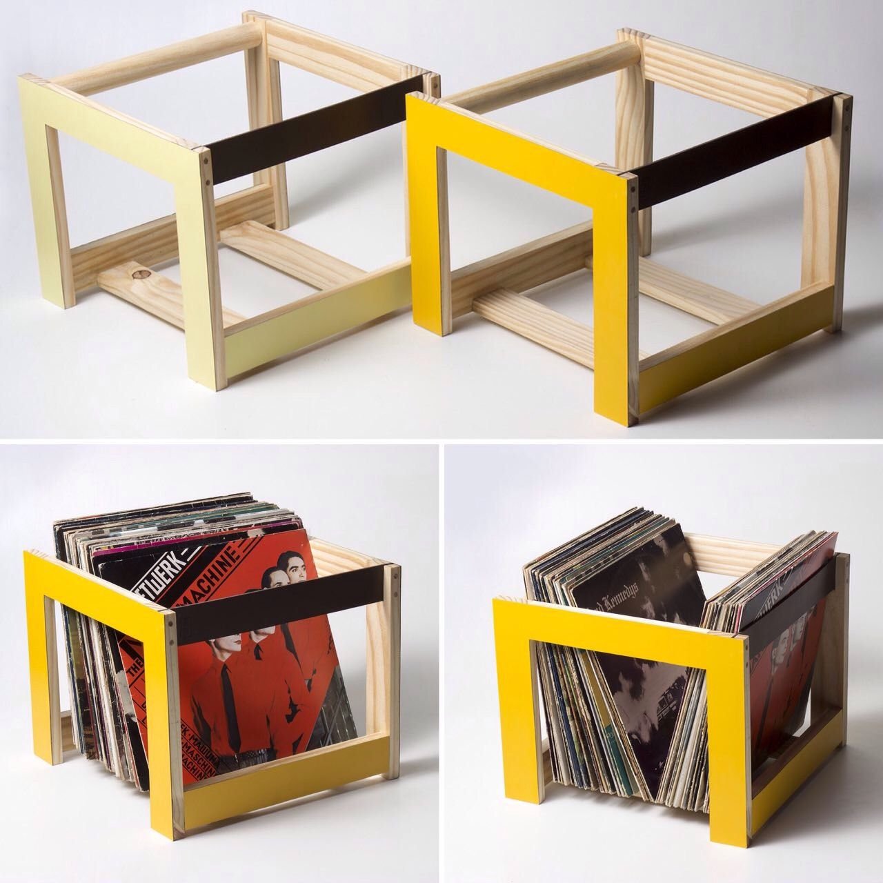 Vinyl holder - www.maxtango.com.br