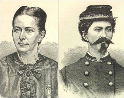 Loreta Janeta Velázquez (06.26.1842 – c.1897), was a Cuban-born woman who masqueraded as a Confederate soldier during the Civil War. She enlisted in the ConfederateArmy in 1861, w/out her soldier-husband's knowledge & fought at Bull Run, Ball's Bluff & Ft Donelson, but was discovered in New Orleans & was discharged. She reenlisted & fought at Shiloh & was unmasked again. She became a spy, working in both male & female guises. Her husband died during the war & she remarried 3 more times.