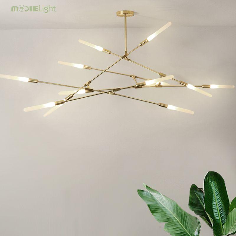 Mooielight Nordic Modern Molecular Branch Pendant Lights Italian