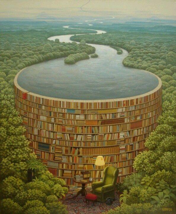 Amazing painting by Jecek Yerka