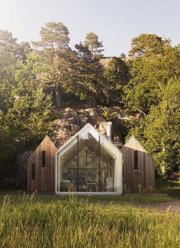 Micro Cluster Cabins In Norway Refugio Pinterest Casas